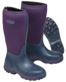 Grubs Frostline Ladies  Neoprene Violet Wide Fitting