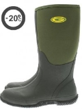 Grubs Frostline Neoprene Moss Green Wide Fitting